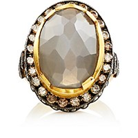 Sara Weinstock Women's Mixed Diamond And Moonstone Ring No Color