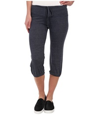 Alternative Apparel Eco Heather Crop Pant Eco True Navy Women's Casual Pants