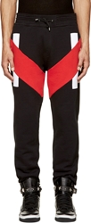 Givenchy Black And Red Lounge Pants