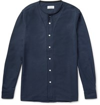 Saturdays Surf Nyc Pontus Coaress Cotton Oxford Shirt Midnight Bue Midnight Blue