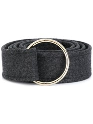 Marni Ring Buckle Belt Grey