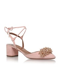 Aquazzura Monaco Pump 50 Female Light Pink