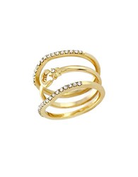 Bcbgeneration Oh My Stars Stackable Ring Set Gold