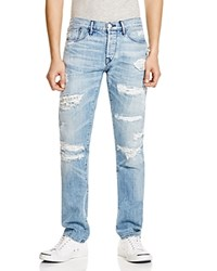 3X1 Slim Fit Jeans In Sky Blue Skyblue