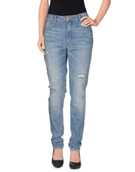Neuw Denim Denim Trousers Women Blue