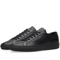 Common Projects Achilles Low Perforated Black