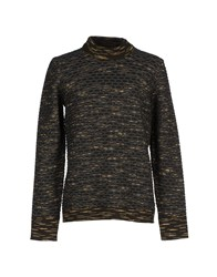 Balenciaga Knitwear Turtlenecks Men Dark Green