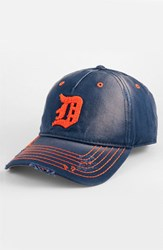 Men's American Needle 'Detroit Tigers' Distressed Cap Blue Navy