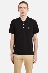 Opening Ceremony Torch Classic Fit Short Sleeve Polo Black