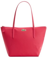 Lacoste Medium Small Shopping Bag Pink