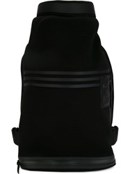 Y 3 Logo Backpack Black