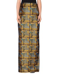 Dsquared2 Skirts Long Skirts Women Yellow