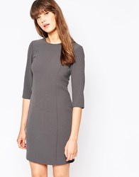 Vero Moda 3 4 Sleeve Shift Dress Asphalt