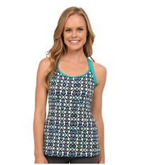 Double Cross Tribal Women's Clothing Blue