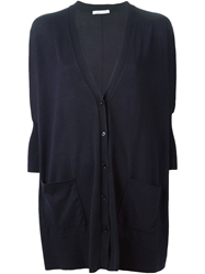 Lamberto Losani Long V Neck Cardigan