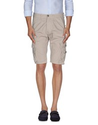Imperial Star Imperial Trousers Bermuda Shorts Men Beige