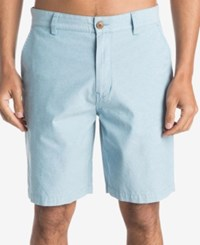 Quiksilver Men's Everyday Oxford Shorts Blue
