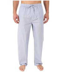 Tommy Hilfiger Poplin Sleep Woven Pants Ice Men's Pajama White