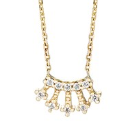 Jennie Kwon Women's Crown Pendant Necklace No Color