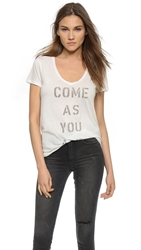 Sol Angeles Come As You Are Tee White