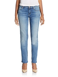 7 For All Mankind The Modern Straight Leg Jeans Blue