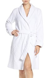 Lauren Ralph Lauren Women's Cotton Terry Robe White