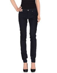 Gas Jeans Gas Trousers Casual Trousers Women Dark Blue