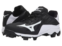 Mizuno 9 Spike Advanced Franchise 8 Low Black White Men's Cleated Shoes