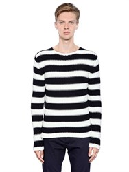 Antonio Marras Striped Cotton Sweater