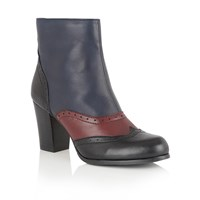 Lotus Halona Ankle Boots Black