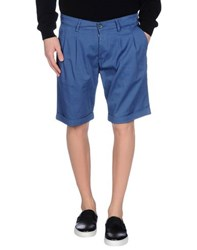 Basicon Trousers Bermuda Shorts Men Pastel Blue