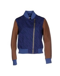 Franklin And Marshall Jackets Blue