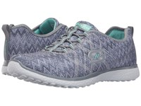 Skechers Microburst Fluctuate Gray Women's Shoes