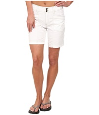 Royal Robbins Kick It Short White Women's Shorts