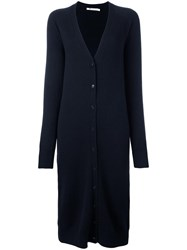 Alexander Wang T By Oversized Cardigan Blue