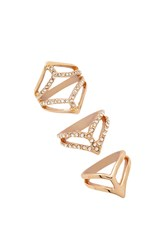 Forever 21 V Cutout Ring Set