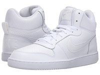 Nike Recreation Mid White White White Men's Basketball Shoes