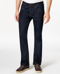 Buffalo David Bitton King X Slim Fit Bootcut Intensely Dark Wash Jeans
