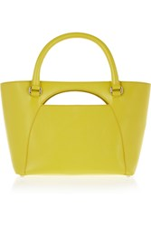 J.W.Anderson Moon Medium Leather Tote Yellow