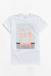 Urban Outfitters The 1975 Neon Logo Tee White