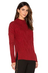 Sanctuary The Wonderer Sweater Red