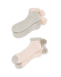 Lemon Slipper Socks Set Of 2 Compare At 16 Linen