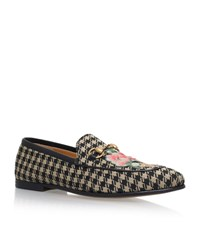 Gucci Brixton Houndstooth Loafer Male Beige
