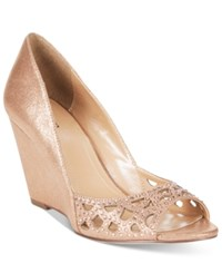 Styleandco. Style Co. Cathiee Evening Wedge Pumps Only At Macy's Women's Shoes Coppertone