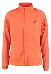 Asics Sports Jacket Koi Orange