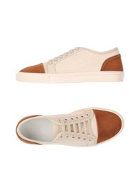Armani Collezioni Footwear Low Tops And Trainers Men Ivory