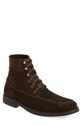 Tommy Bahama Men's 'Lionelle Mid' Apron Toe Boot Dark Brown