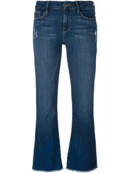 Frame Denim Flared Jeans Blue