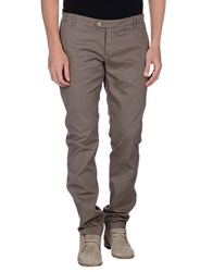 Takeshy Kurosawa Trousers Casual Trousers Men Khaki
