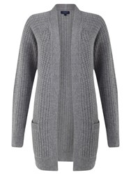 Jigsaw Cashmere Marilyn Cardigan Dark Grey